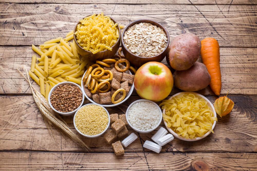 Еда с полезными углеводами